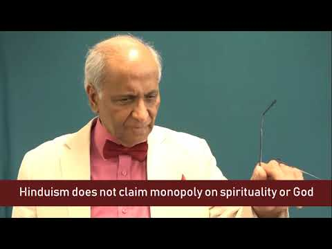 Hinduism does not claim monopoly on spirituality or God | Jay Lakhani | Hindu Academy
