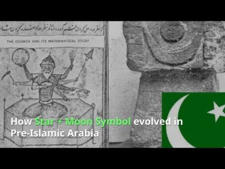How Star and Crescent Moon evolved from Hinduism in Pre-Islamic Arabia