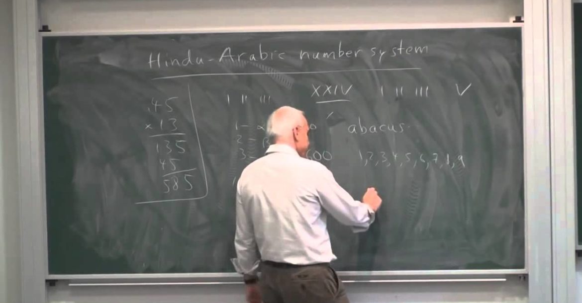 Introduction of the Hindu-Arabic number system