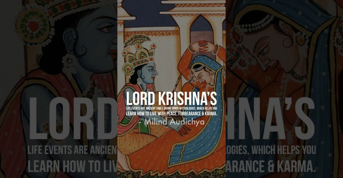 Lord #Krishna's  life events are ancient times divine Hindu mythologies, which helps you learn how t
