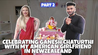 My American Girlfriend and I Celebrate Ganesh Chaturthi In New Zealand || Vlog 2