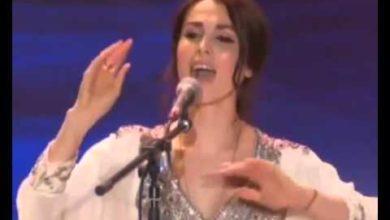 Russian singer singing and chanting Vedic