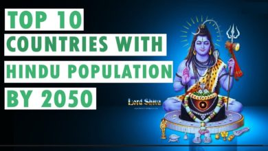 Top 10 Countries in the World with Hindu Population by 2050   English