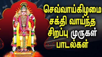 Tuesday Powerful Murugan Special Songs Tamil | Murugan bhakti padagal | Best Tamil Devotional Songs