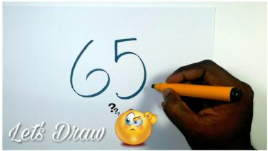 Very Easy ! 65 with How to Draw a GOD GANESHA with simple lines / Drawing Ganesha /Art for Childrens