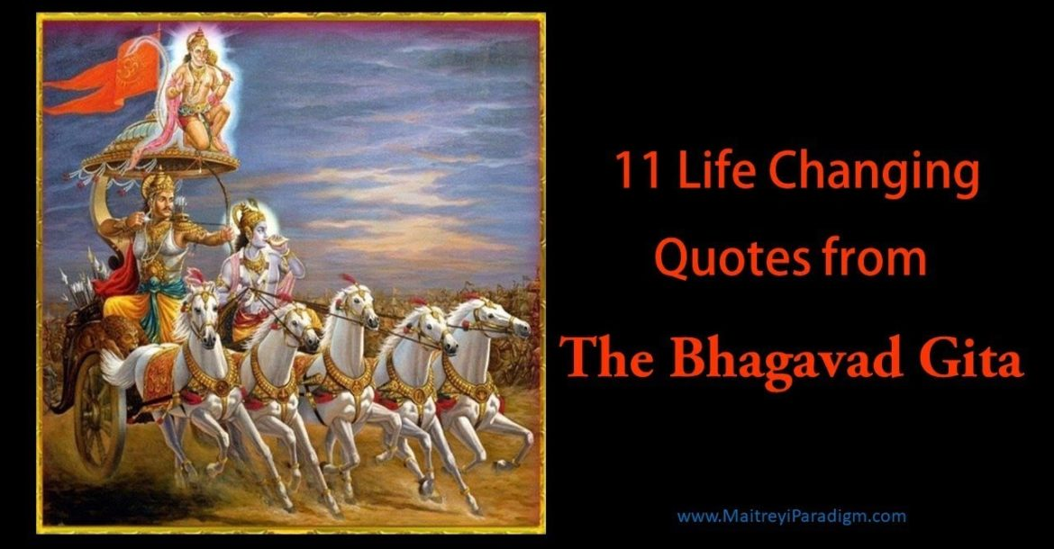 11 Life Changing Teachings from The Bhagavad Gita