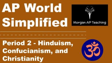 AP World Simplified   Period 2   Hinduism, Confucianism, & Christianity