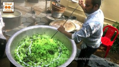 #Amazing Cooking Green Rice Prepared 300 People Hindu Function || Street Food Catalog
