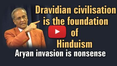 Dravidian civilisation is the foundation of Hinduism (Aryan invasion is nonsense)