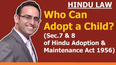 FAMILY LAW - HINDU LAW #25 || Who Can Adopt a Child? || ADOPTION (Part-3)