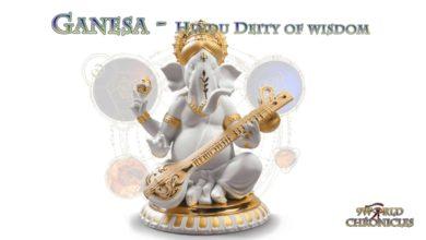Ganesa Hindu god of wisdom