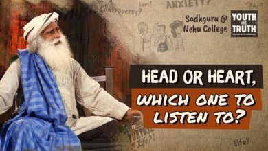 Head or Heart, which one to listen to? - Sadhguru