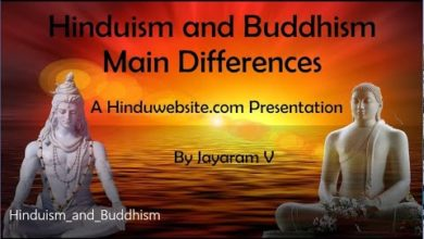 Hinduism and Buddhism Main Differences