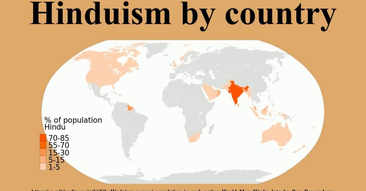 Hinduism by country