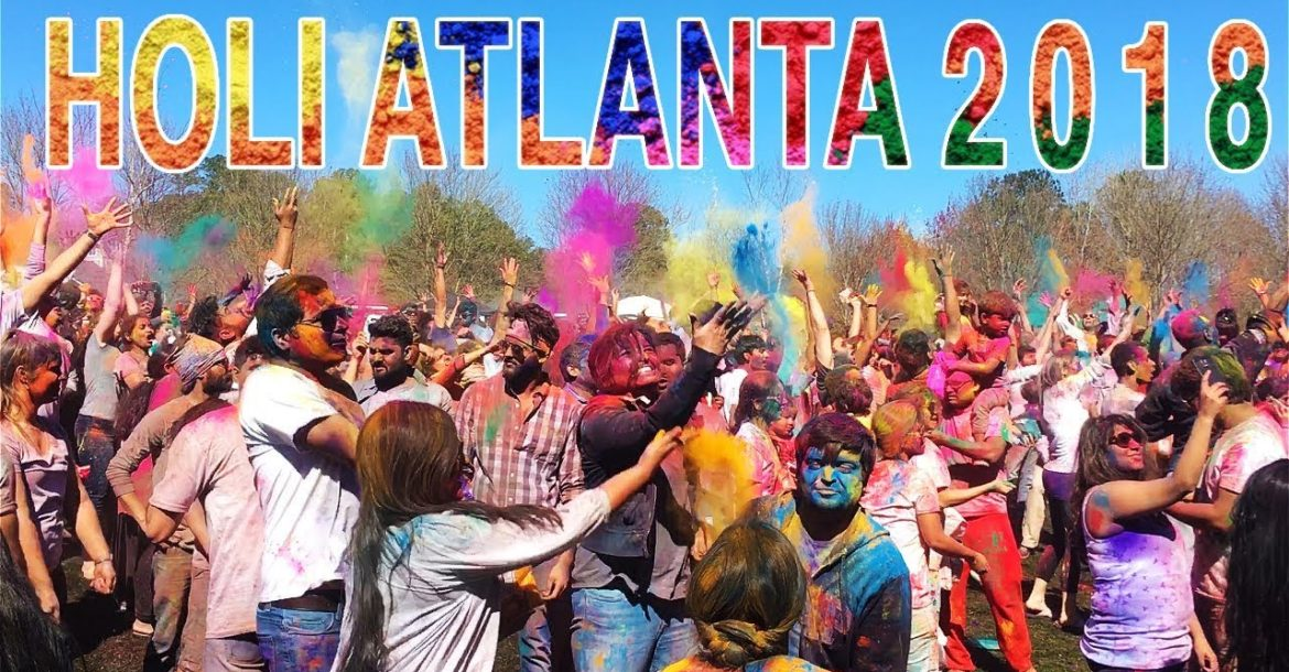 Holi Festival in Atlanta 2018