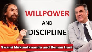 How to Develop Self Discipline and WillPower? | Q/A with Swami Mukundananda and Boman Irani