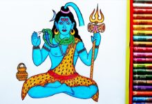 How to Draw Lord Shiva Step By Step | Drawing Of Lord Shiv Ji | God BholeNath | By Drawing Art