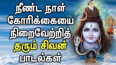 LORD SIVA WILL FULFIL YOUR LOBG PENDING DESIRE | Lord Shiva Tamil Songs| Most Popular Shiva Padalgal
