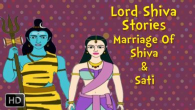Lord Shiva and Sati Stories for Children - Marriage Of Shiva and Sati - Mythological Stories