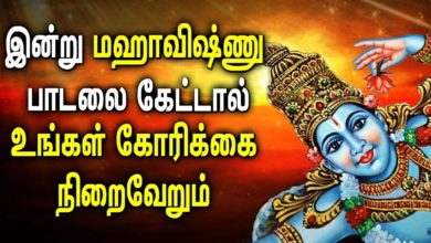 Lord Vishnu Songs Great Protection from All Negative Forces | Best Tamil Devotional Songs