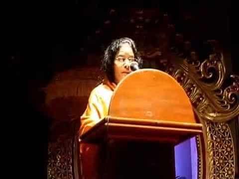 Mother S. A. Maa Krishna - World  Hindu Wisdom Meet - 2014, Bali, Indonesia.