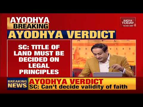 No evidence to show that faith of Hindus is not genuine: SC