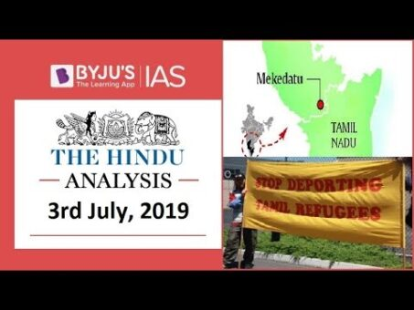 'The Hindu' Analysis for 3rd July, 2019 (Current Affairs for UPSC/IAS)