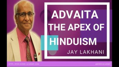 Advaita  the Apex of Hinduism |Jay Lakhani | Hindu Academy |