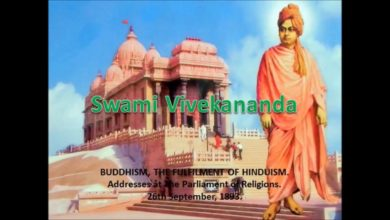 BUDDHISM, THE FULFILMENT OF HINDUISM Complete Works of  Swami Vivekananda - Chapter 1
