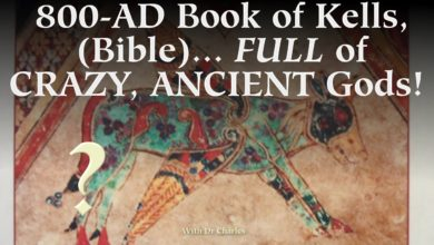 """EXCLUSIVE: Why is """"Book of Kells"""", Full of clearly-Hindu Gods?!"""""""
