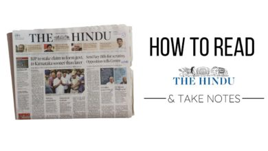 How to Read the Hindu Newspaper for UPSC and Take Notes ☆ INDiASHASTRA