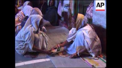 INDIA: VRINDAVAN: HINDU WIDOWS ARE CONSIDERED TO BE OUTCASTS