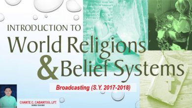 Intro to World Religions and Belief Systems Broadcasting (HINDUISM XI-HUMSS B, S.Y. 2017-2018)