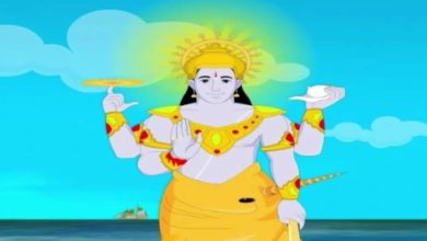 Lord Vishnu - The Protector of the Universe - Animated Stories for Children