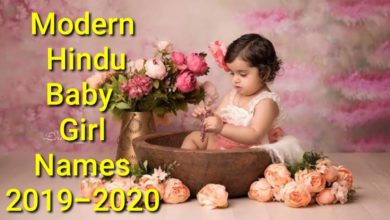 Modern Hindu Baby #Girls Names. 2020|Baby Girls Names With Meanings.