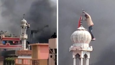 New Delhi mob torches and vandalises mosque as sectarian violence in India intensifies
