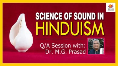 [Q/A] Science Of Sound In Hinduism | Dr M G Prasad | Vedic Perspective On Acoustics | Naada & Shabda