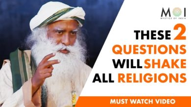 Sadhguru - Great Religions of the World can't Withstand 2 Logical Questions | Mystics of India #MOI