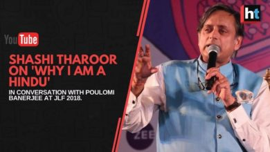 Shashi Tharoor, Indian Politician, Author 'Why I Am A Hindu' in conversation with Poulomi Banerjee.