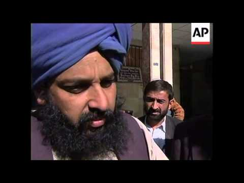 Sikhs describe treatment under Taliban
