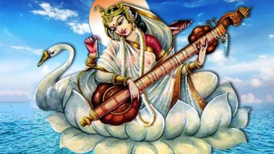 Sri Saraswati Sahasranama Stotram Full (With Lyrics) | Most Powerful - Must Listen During Navratri