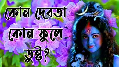 কোন দেবতা কোন ফুলে তুষ্ট? Flower Preferences of Hindu Gods and Goddesses