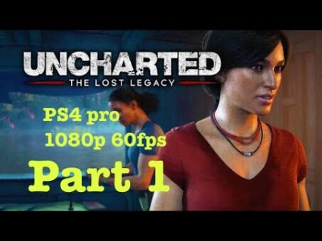 uncharted lost legacy first game on hindu god (india) ps4 pro 1080p