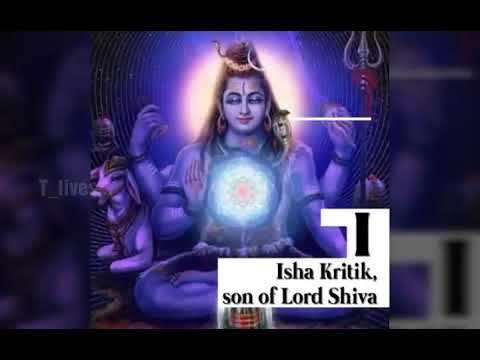 A to Z names of Shiva