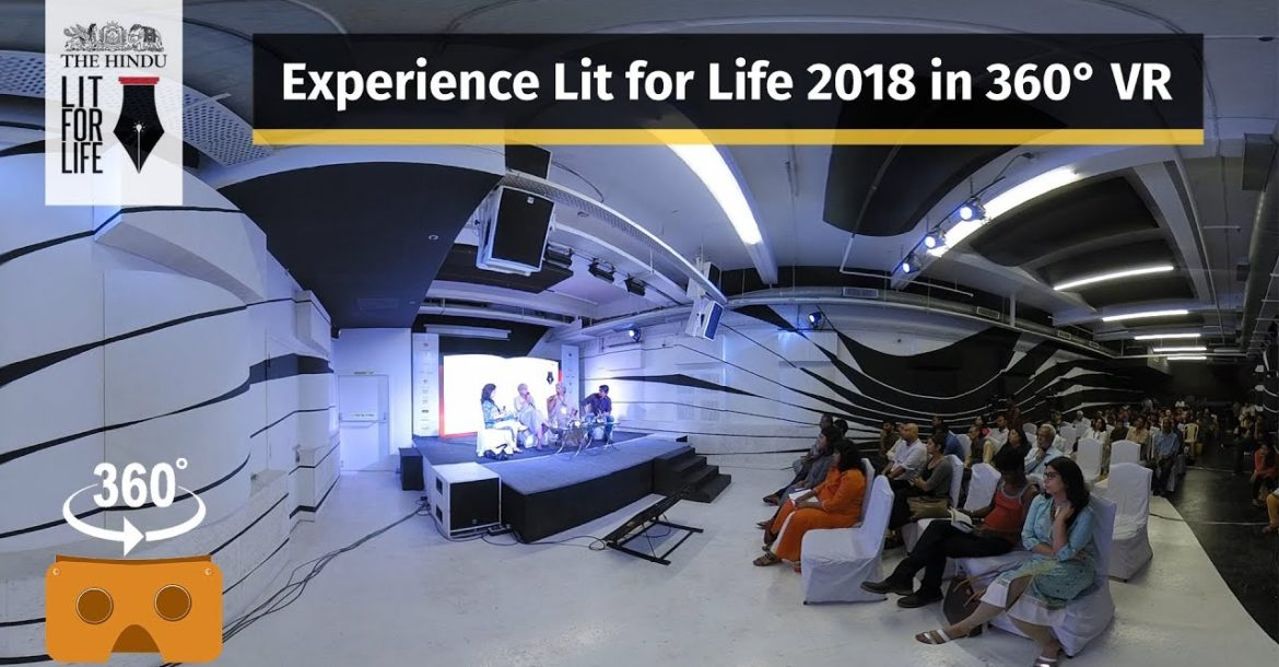 An immersive experience of The Hindu Lit For Life panel discussions
