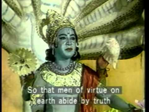 Baby God - Ram (Vishnu-avatar) from Ramayana episode 1.mpeg
