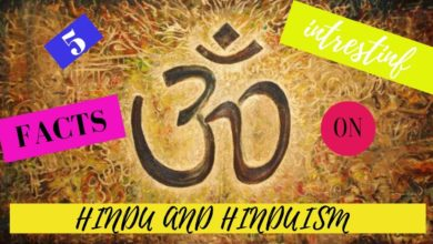 FIVE INTERESTING FACTS ON HINDUISM