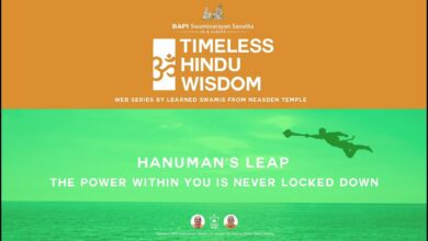 Hanuman's Leap: The Power Within You is Never Locked Down – Timeless Hindu Wisdom Series: Session 4