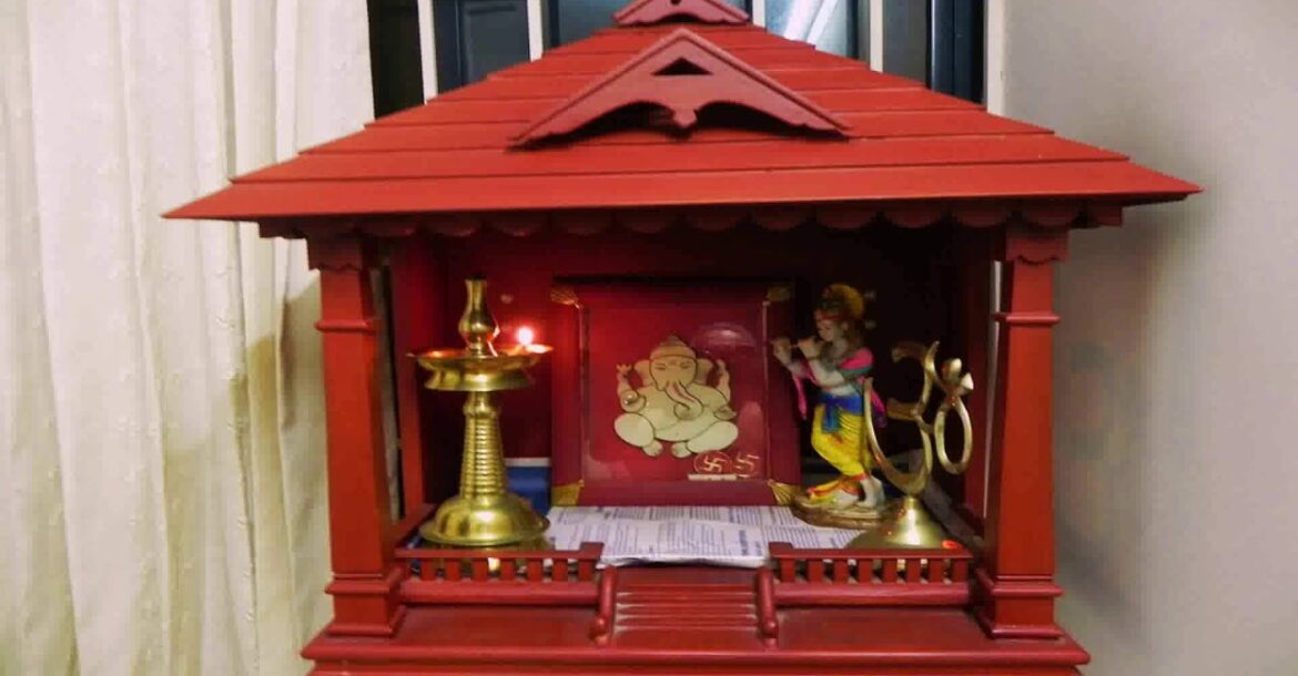Hindu Wooden Temple Design Image For Home