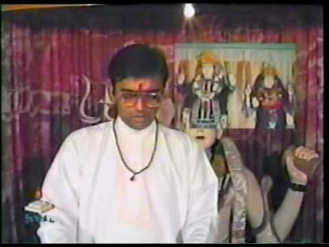 Hindu practice of bowing - Pt. Parmanand Persad